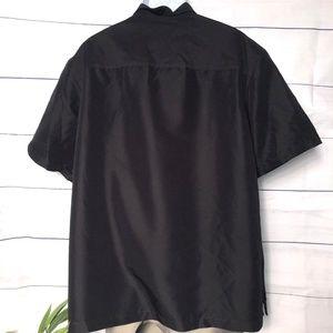 Claiborne Shirts - Claiborne No Tuck SS Button-Front Shirt - XXL